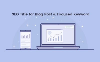 Blog SEO: Focus Keywords and Seo Title for Blog Post