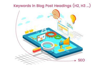 Blog SEO: Blog Keyword Analysis – Using Keywords in Headings & Content