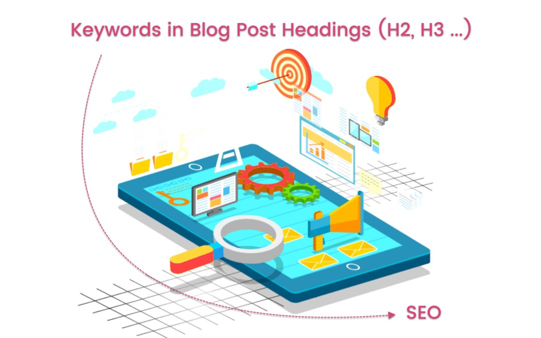 blog keyword analysis - keywords in blog post headers and content