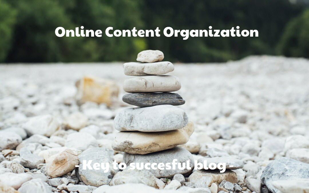 online content organization and content creation
