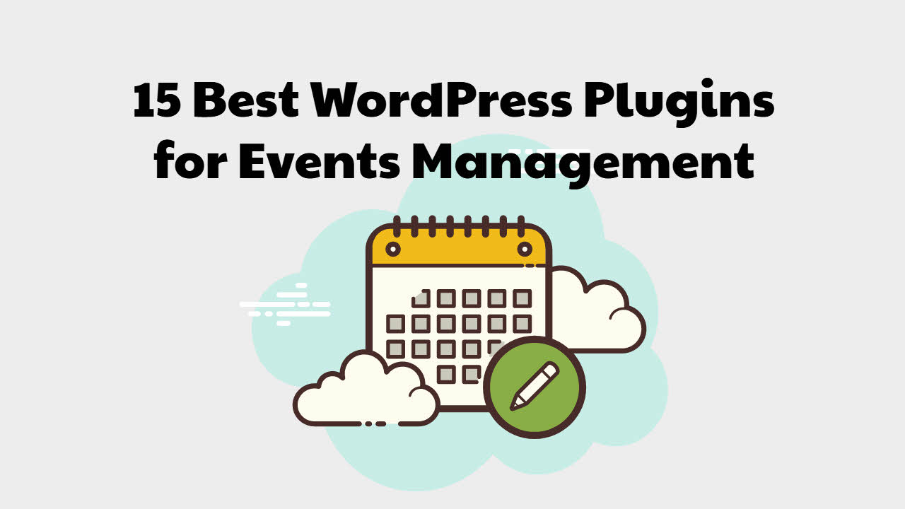 best wordpress plugins for events