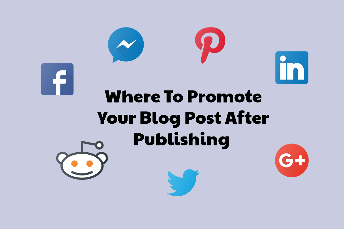 promote blog post after publishing