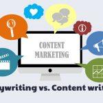Copywriting vs. Content Writing strategy