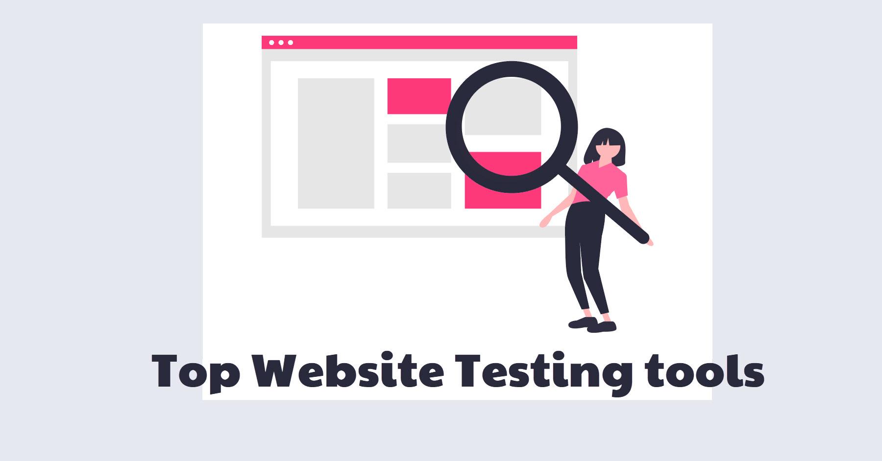top website testing tools