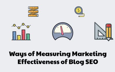 8 Ways of Measuring Marketing Effectiveness of Blog SEO