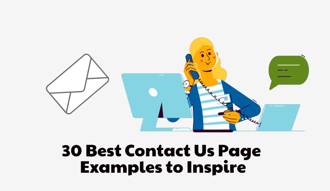 30 Best Website Contact Us Page Examples to Inspire  (434)