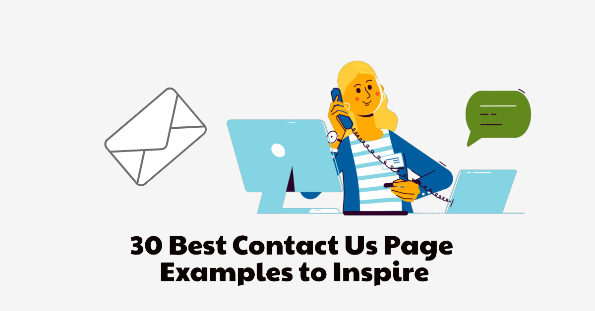 best website contact us page examples
