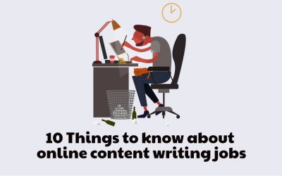 10 Things to Consider for Article Writing Jobs