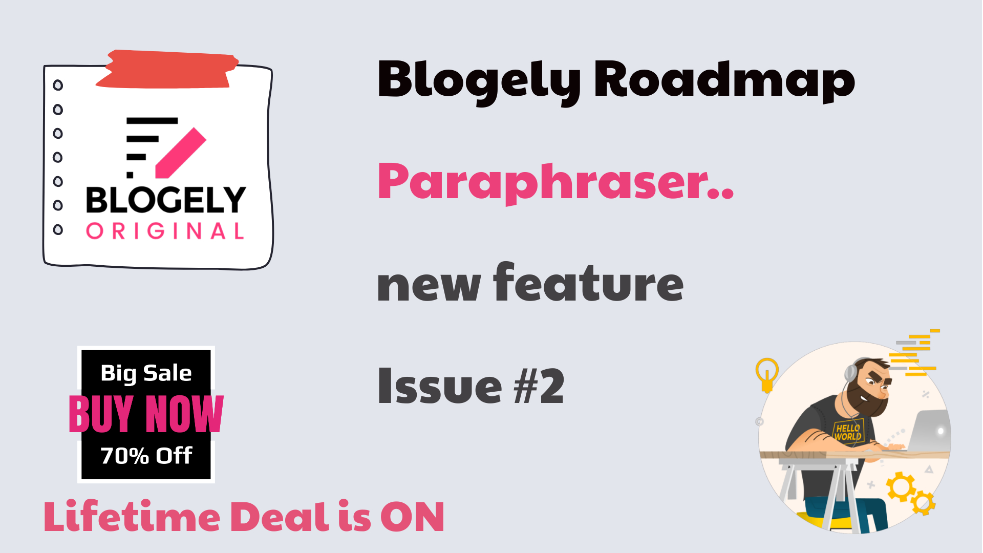 Blogely Roadmap 20 – upcoming feature release AI driven ...