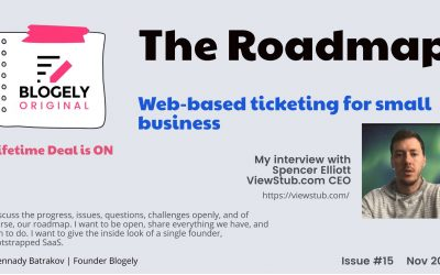 ROADMAP – Interview with Elliot Spencer ViewStub.com Founder & CEO