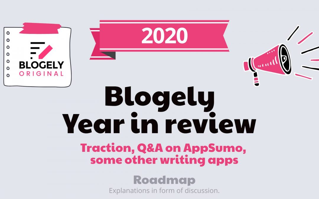 BLOGELY – Year 2020 in Review