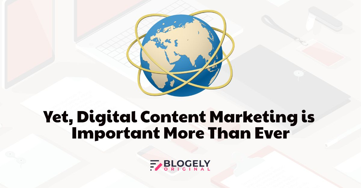 Digital content marketing strategy