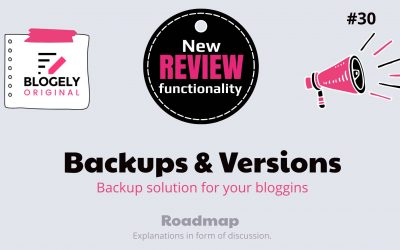 Backups and Versions