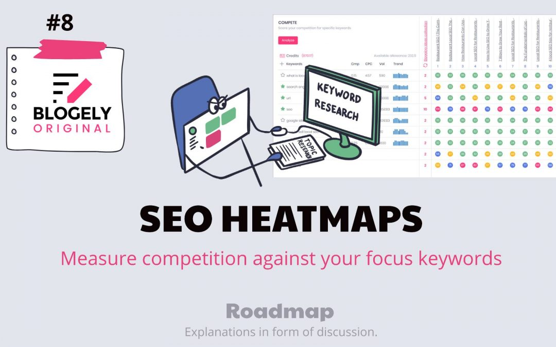 A complete guide for Blogely Research Docs with the use of SEO Heatmaps