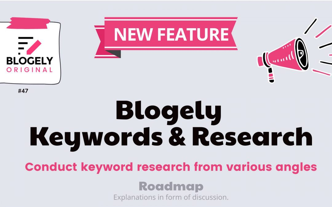 blog seo related keywords research