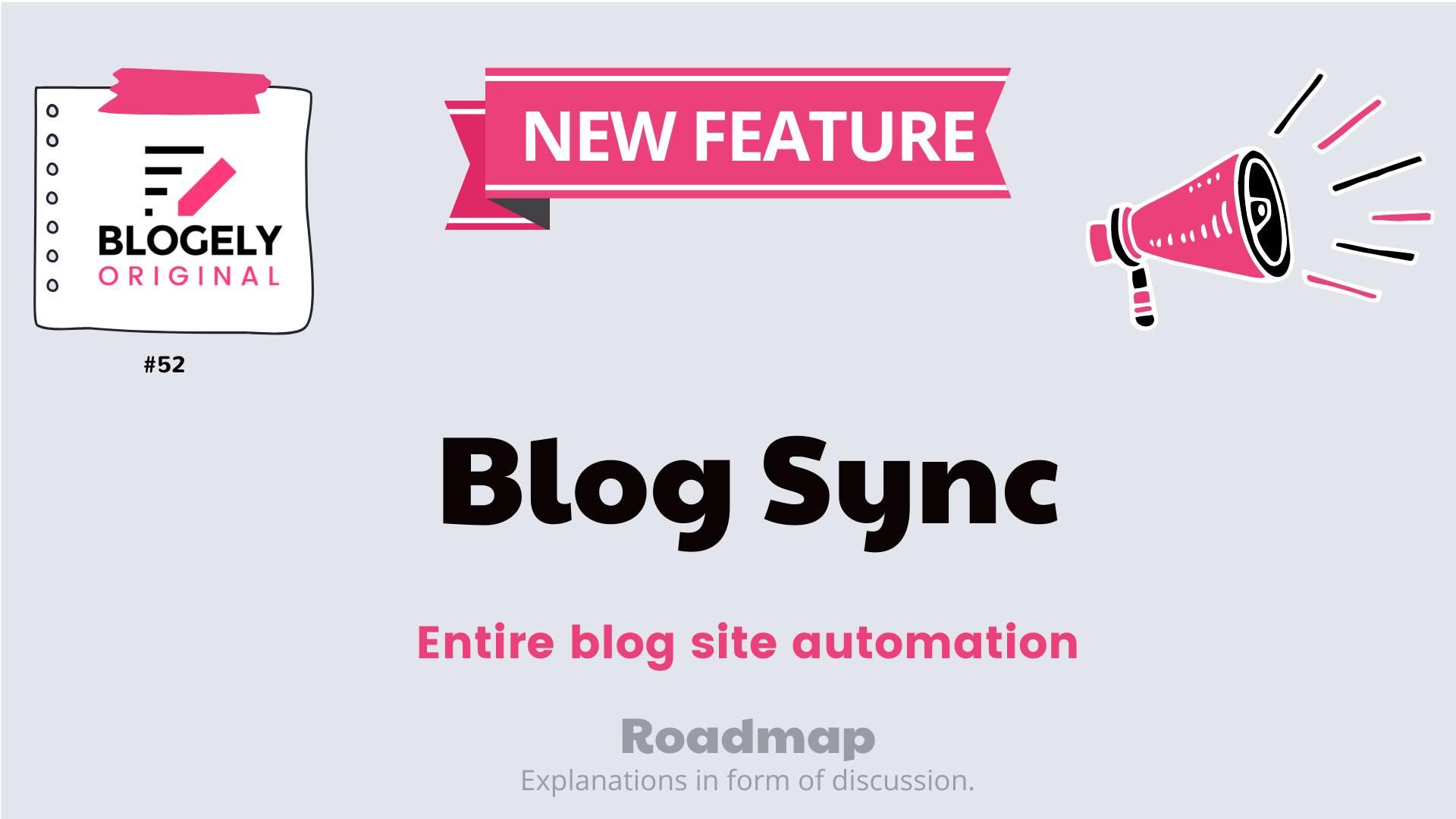 content blog sync