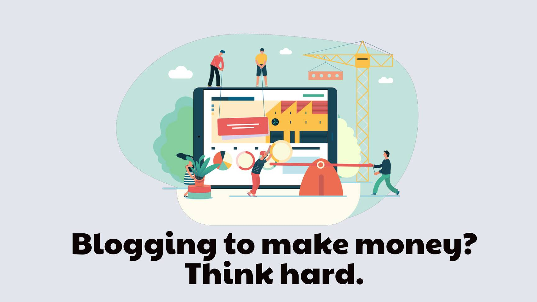 Blogging to make money for freelancers